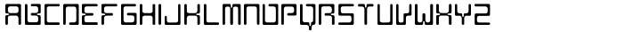 AF Nitro Intro Font Sample