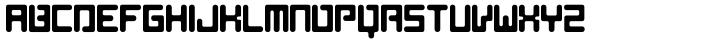 AF Nitro Riton Font Sample