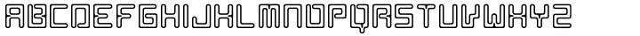 AF Nitro Trion Font Sample