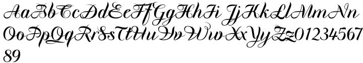 Oona Font Sample