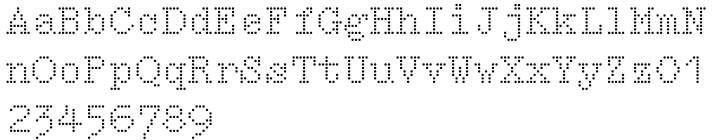 Intimo Font Sample