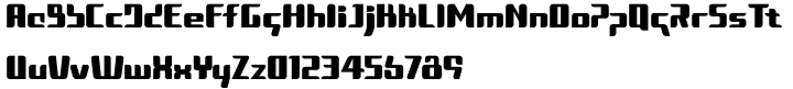 Zedd Font Sample