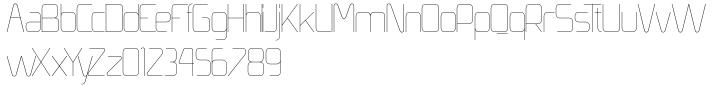 Simples Font Sample