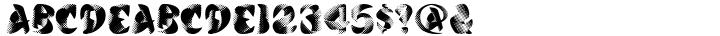 Calypso™ Font Sample