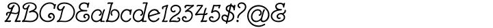 Card Pro™ Font Sample