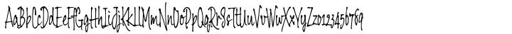 Balaghat Font Sample