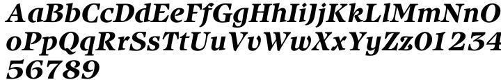 ITC Isbell® Font Sample