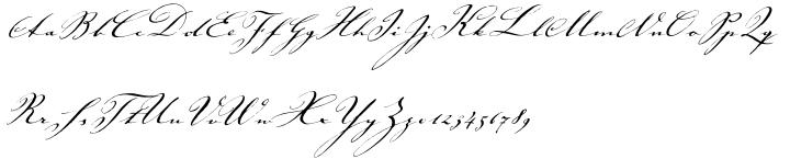 ITC Johann Sparkling™ Font Sample