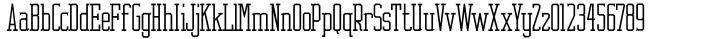 Cornfield JNL Font Sample