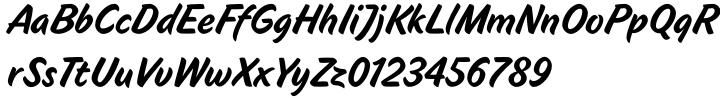 Tasty Font Sample