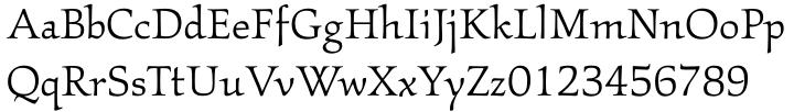 ITC Kallos™ Font Sample