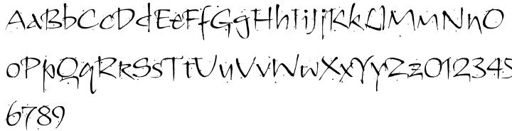 ITC Kendo™ Font Sample