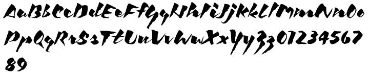 ITC Kick™ Font Sample