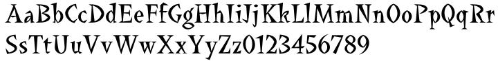 La Bamba™ Font Sample