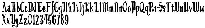 LD Romeo™ Font Sample