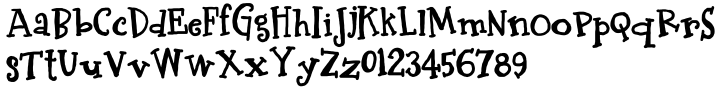 LDJ Bash™ Font Sample