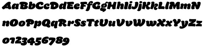 Tomate Font Sample