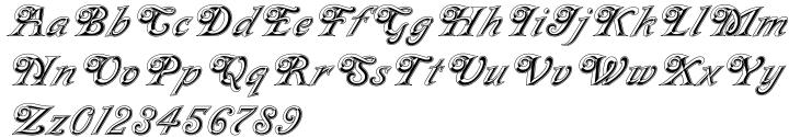 Milano™ Font Sample
