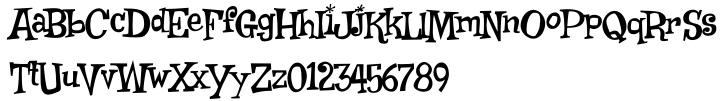 Weird Bill™ Font Sample