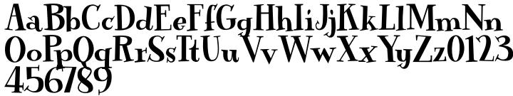 Mirla Font Sample