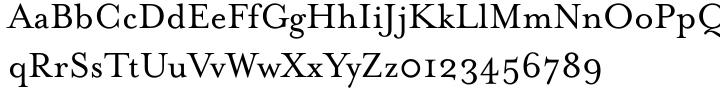 Mrs Eaves™ Font Sample