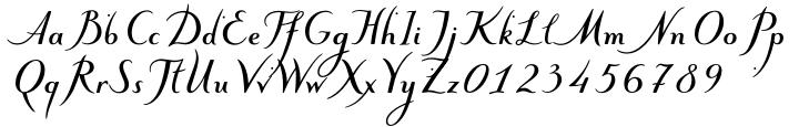 ALS Klinkopis™ Font Sample
