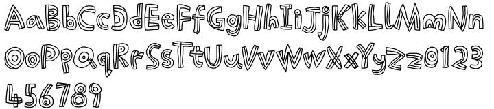 Picklepie™ Font Sample