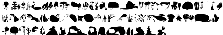 Anymals™ Font Sample