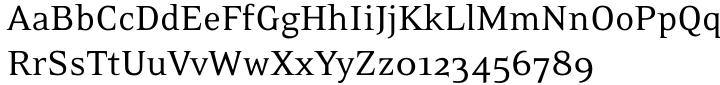 Eidetic Neo Font Sample