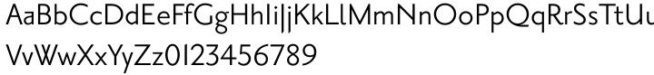 Priori Sans Font Sample