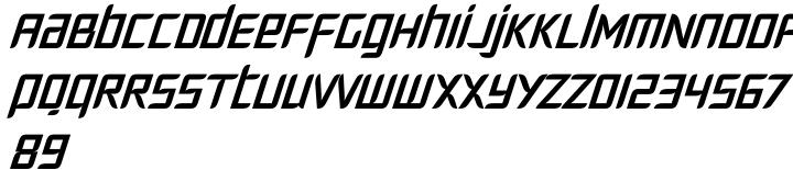 Fury™ Font Sample