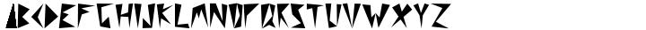 Rockband™ Font Sample