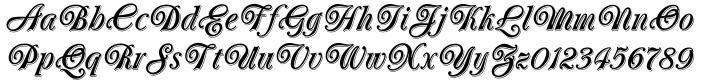 Oberon™ Font Sample