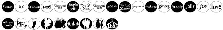 DB Circles Font Sample