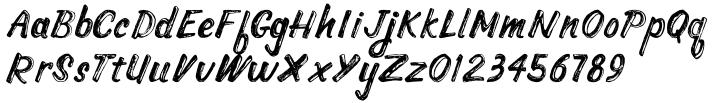 Baja California Font Sample