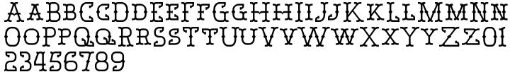 Bamberforth™ Font Sample