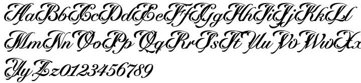 Velouté Font Sample