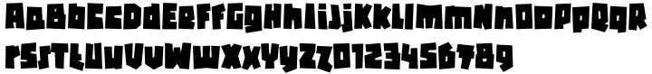 Flint™ Font Sample