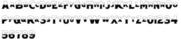 Chipperly Font Sample