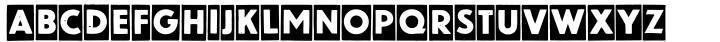 Blitzplakat Font Sample