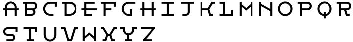 Bistro Mono Font Sample