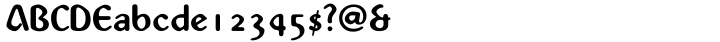 Abbey™ Font Sample