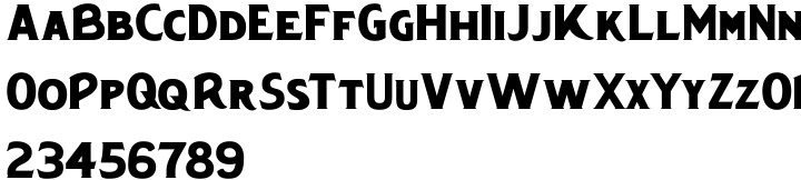 Chipping Font Sample