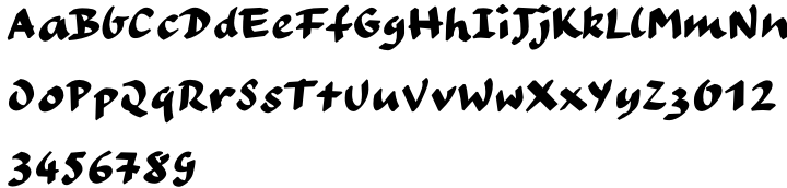Liebfraumilch Font Sample