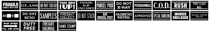 Part and Parcel JNL Font Sample