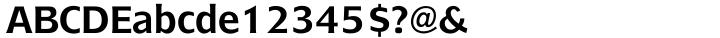 Bluejack™ Font Sample