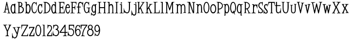 Zydeco JNL Font Sample