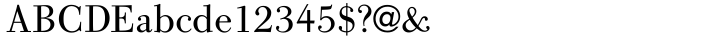 URW Bodoni Old Fashion™ Font Sample