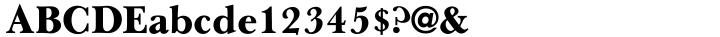 URW Baskerville AI™ Font Sample