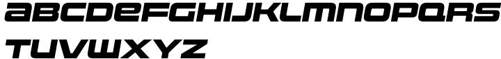 Uniwars Font Sample
